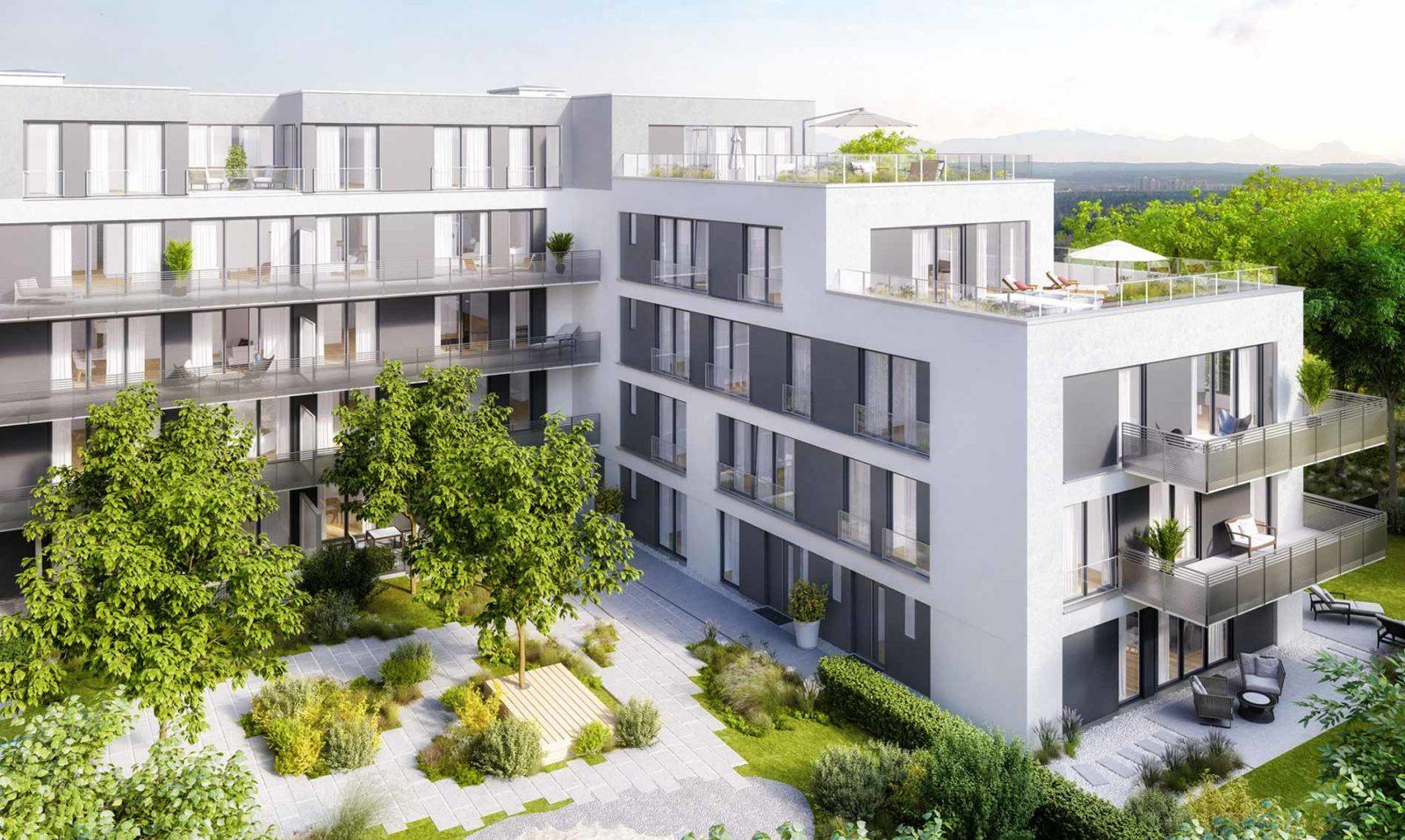 München Hochufer Immobilienprojekt