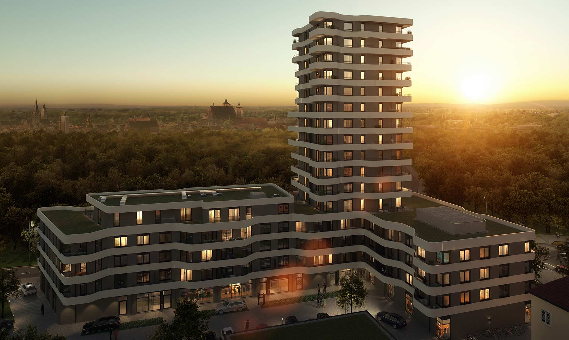 Ingolstadt In-Tower Immobilienprojekt