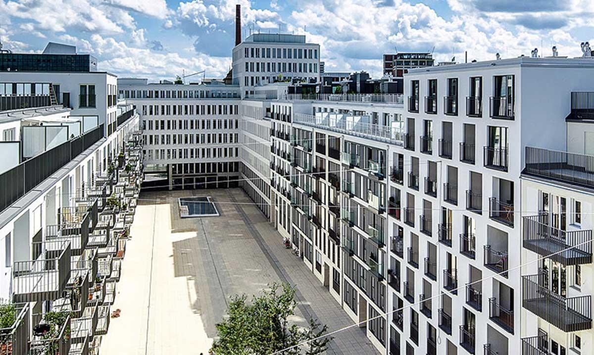 Nymphenburger Höfe Ansicht Front