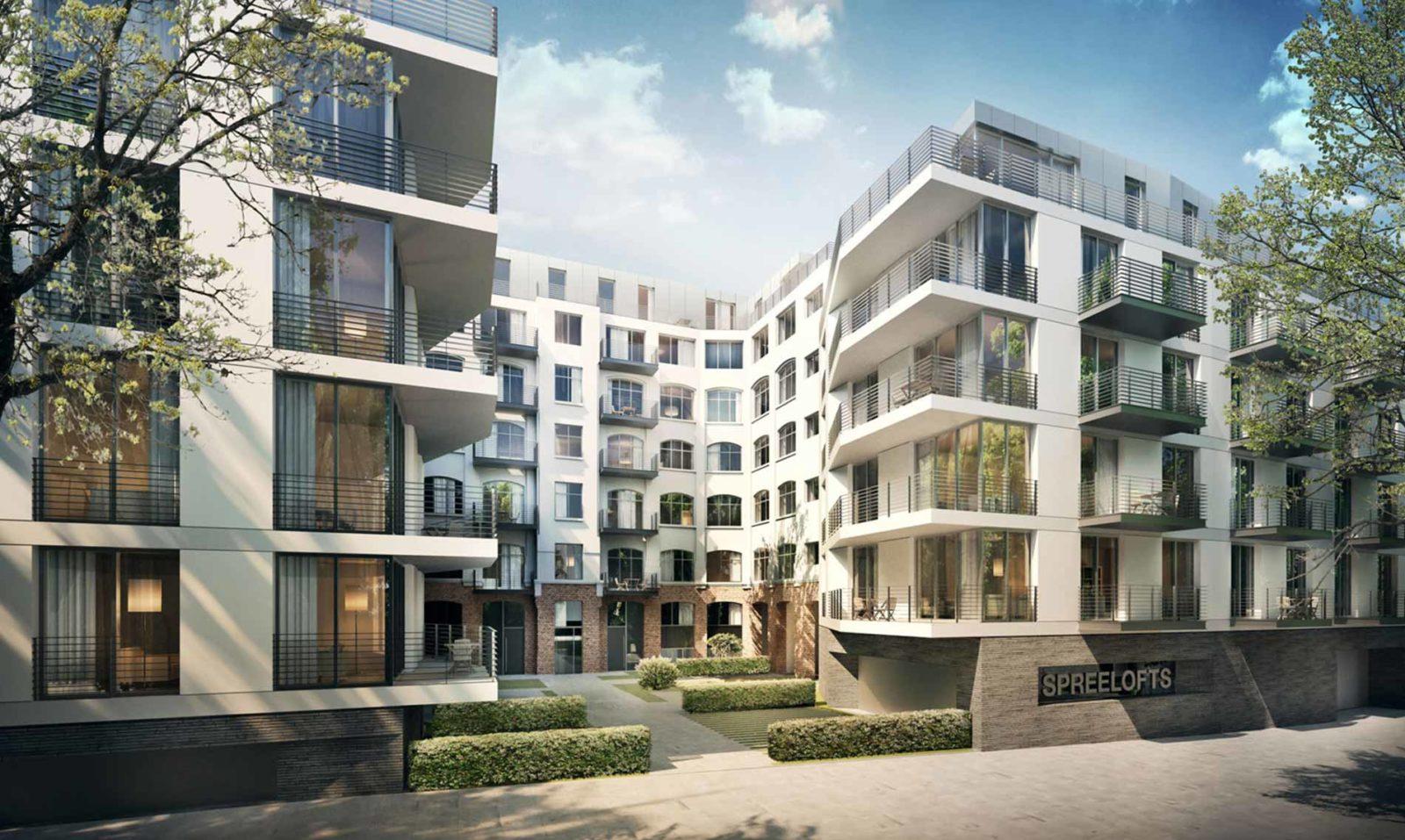 Berlin Spreelofts Immobilienprojekt