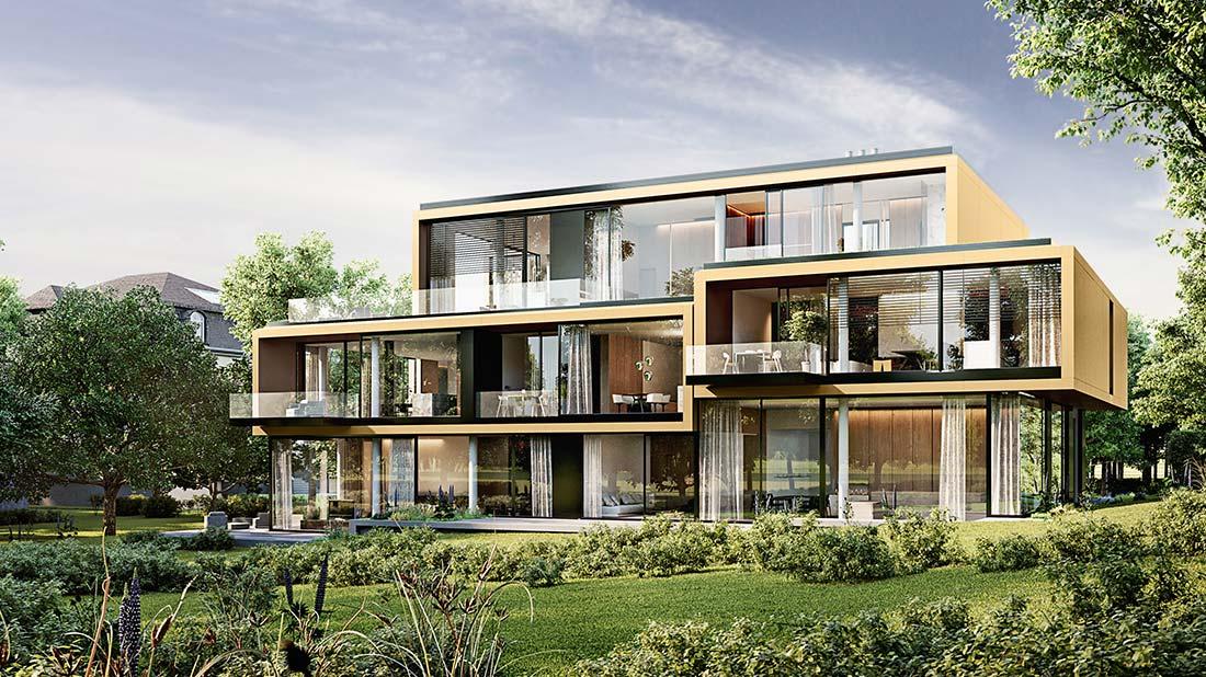 Berlin OE - Koenigsallee Immobilienprojekt