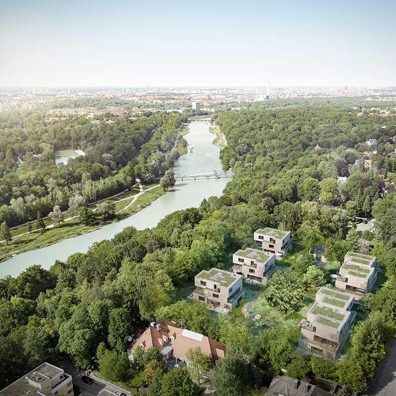 Penthouses im Münchner Süden