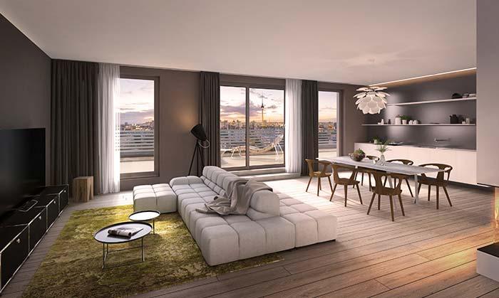 Neubau Townhouses und Penthouses in Berlin