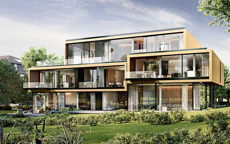 """Penthouse Berlin Projekt Koenigsallee """"oe"""""""