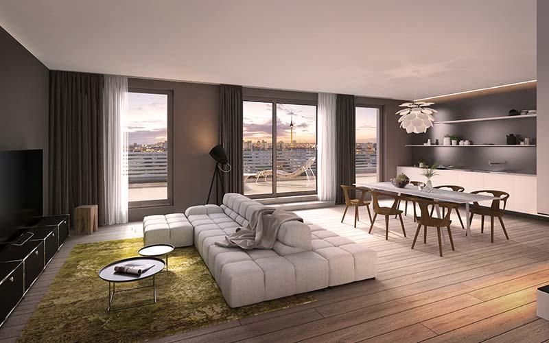 Penthouse Berlin Projekt Livingstone