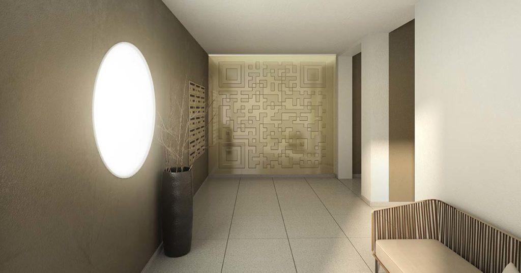 Lobby im Projekt LIVINGSTONE
