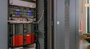 Serverschrank für den umfassenden Ausstattungsstandard des Cammisar-Lofts