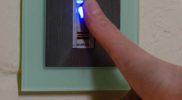 Tür öffnen per Fingerabdruck