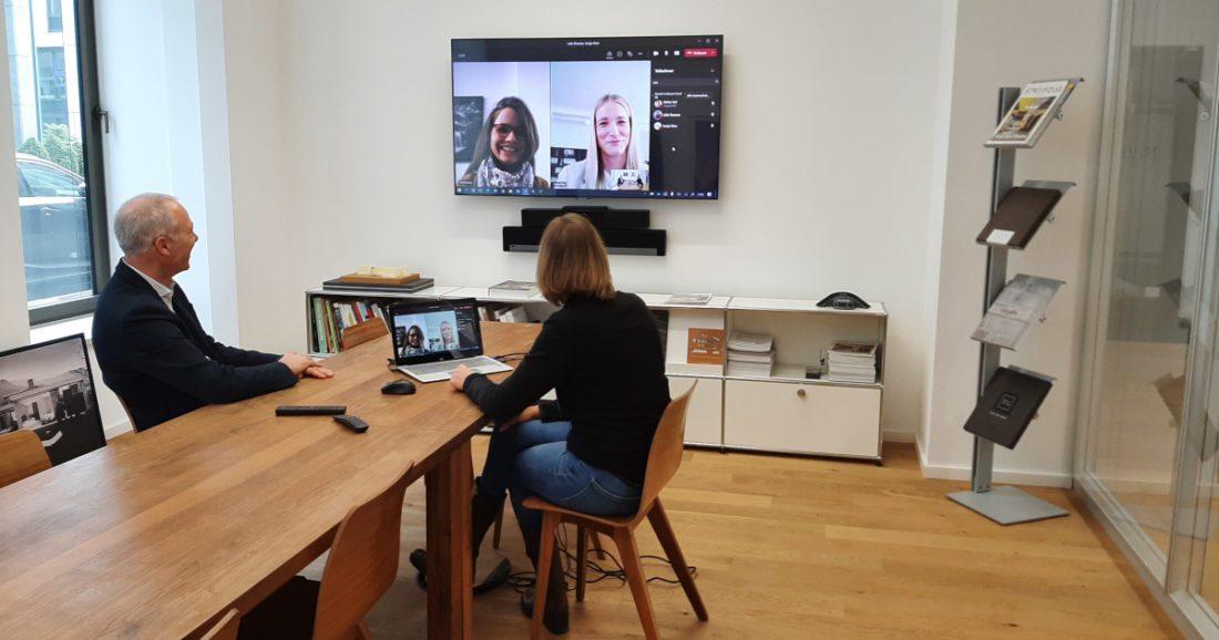 Polycom Studio im Münchner Büro
